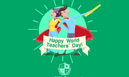 Happy World Teachers' Day!