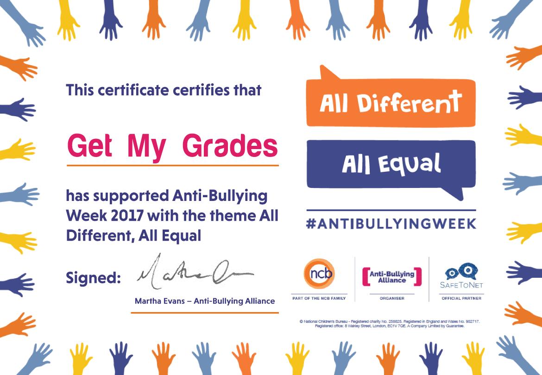Anti-Bullying Week 2017: Recap