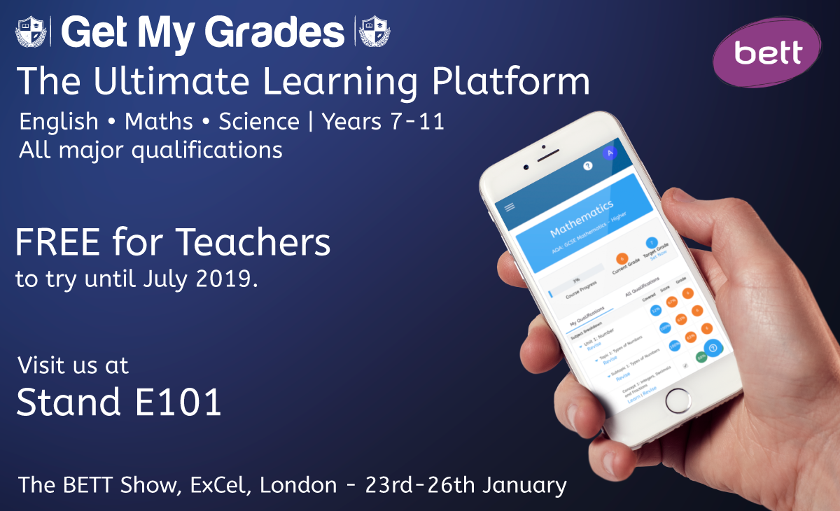Visit Us At The BETT Show 2019 – Stand E101